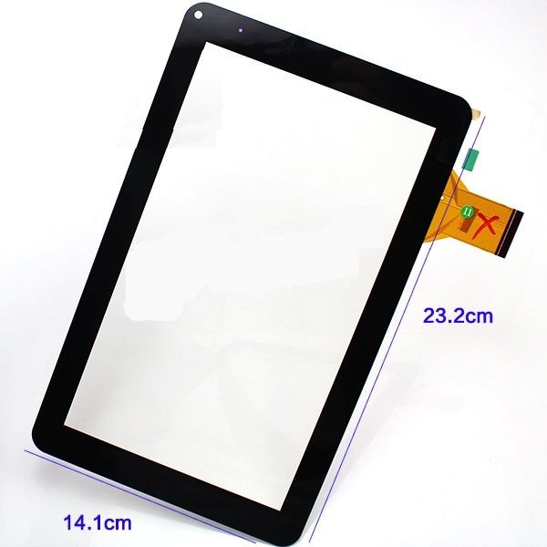 Touch screen ZP9168-9 p/ Tablet Chinês 9 pol