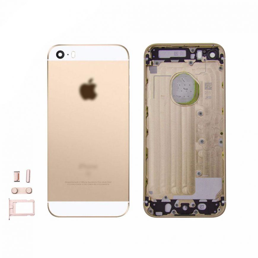 Chassi Central iPhone SE Cor Gold S/ Componentes