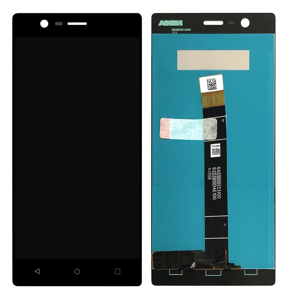 Display LCD   Touch  Nokia 3 Preto