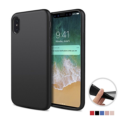 Capa de gel negro para Iphone X