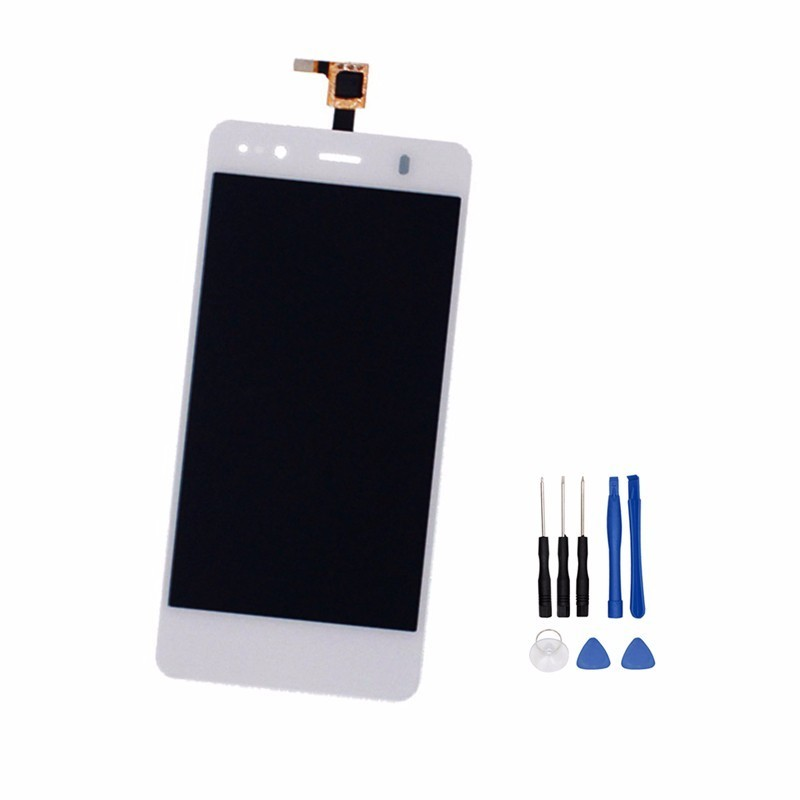 Display LCD   touch para BQ Aquaris A4.5 Android One, Branco