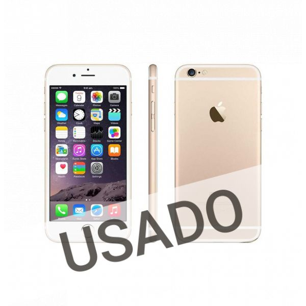 Telemóvel iPhone 6 Silver Gold 64Gb Refurbished Grade A