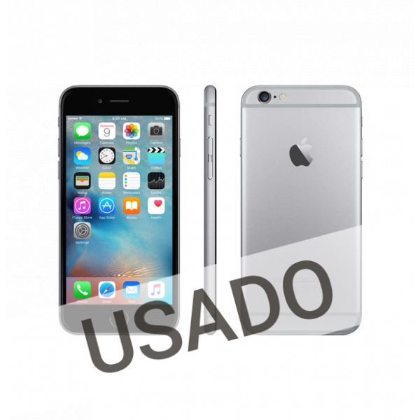 Telemóvel iPhone 6 Space Grey 64Gb Refurbished Grade A