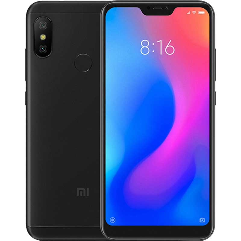 Telemóvel Xiaomi Redmi Note 6 Pro 4Gb 64Gb DS Black EU