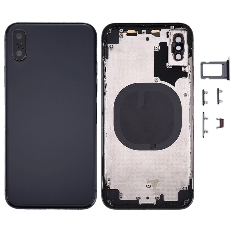 Chassis completo preto para iPhone X
