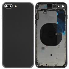 Carcaça chassis iPhone 8 Plus preto OEM