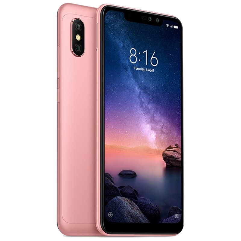 Telemóvel Xiaomi Redmi Note 6 Pro 64GB DS rose gold EU