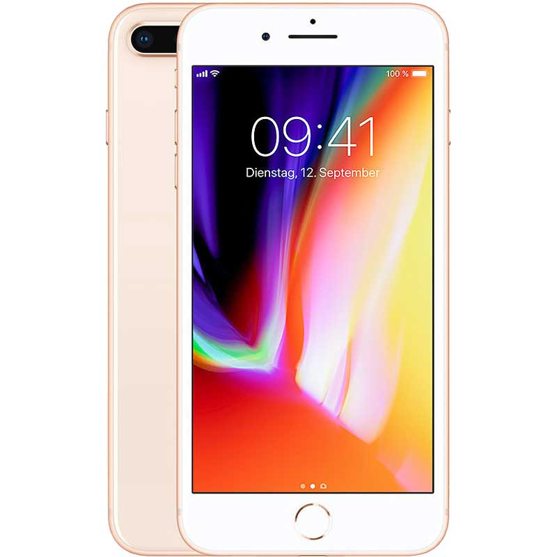 Telemóvel iPhone 8 Plus 4G 256GB Gold