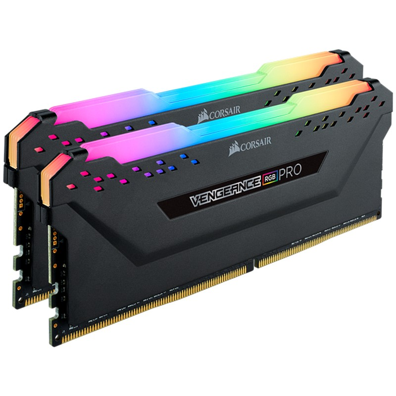 Corsair DDR4, 2666MHz 16GB, Unbuffered, Vengeance RGB PRO