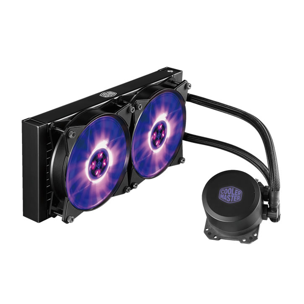 Cooler MasterLiquid ML240L 240mm, RGB Fan & Water Block