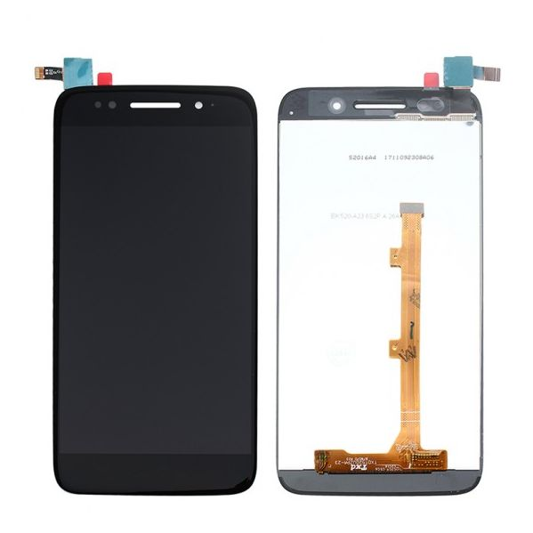 Display com frame para para Alcatel 5 (5086D) Preto
