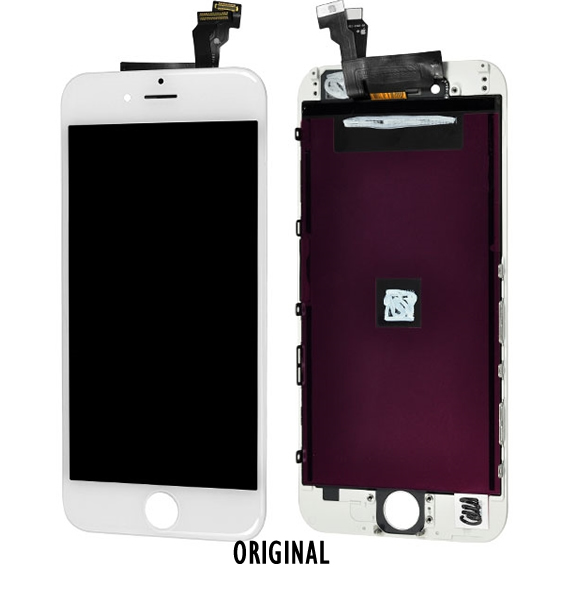 LCD / display e touch iPhone 6 Branco A1586/A1549 ORIGINAL