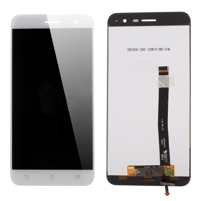 Display LCD + touch para Asus Zenfone 3 ZE520KL branco